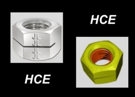 OTHER TYPE OF SLOTTED SELF LOCKING NUTS - HCE